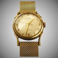 14 k yellow gold (case only) Vintage Gruen Men's Watch