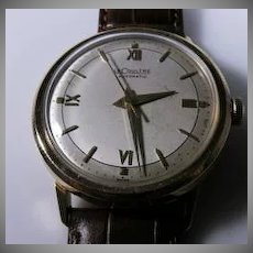 Vintage 18K Yellow Gold LeCoultre Bumper Automatic Men's Watch