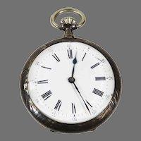ANTIQUE Pocket Watch Levee Brevet Swiss Engraved  Open Face Working.   1906.
