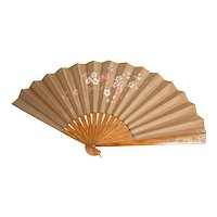 Hand painted Fan Circa early 1800's