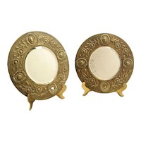 Brass small Mirrors