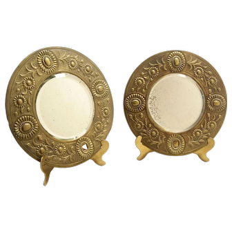 Brass small Mirrors