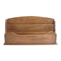 Oak Desk Organizer English Circa 1895