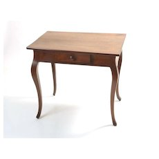 English Small Desk with one draw circa mid 1800's