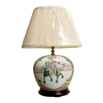 Beautiful Chinese Ginger Jar Lamp