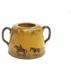 Horse sugar jar