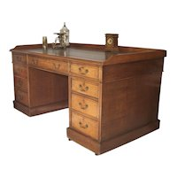 English Partners Desk Mid 19th Century