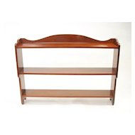 Mahogany Shelf