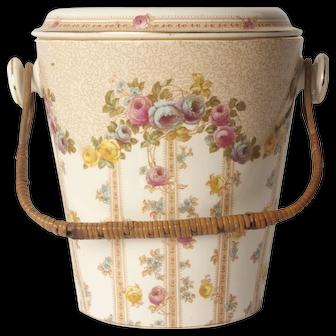 Rhos Chamber Pot and Soap dish