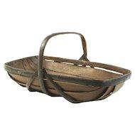 Chestnut Sussex Basket- Circa 1890