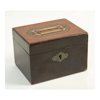 Wooden Money Box, Circa 1890