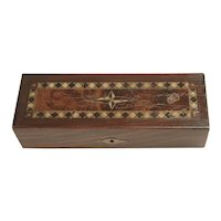 Wooden Inlay Box For Pens