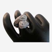 Sonia B. Diamond and Eighteen Karat White Gold Ring