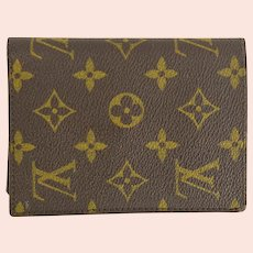 Vintage Louis Vuitton Monogram ID Wallet