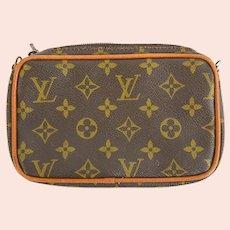 Vintage Louis Vuitton Monogram Cosmetics Bag