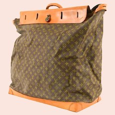Vintage Louis Vuitton Monogram Steamer Travel Bag