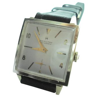 14Kt Gold Men's Hamilton Model 637 Professionally Serviced
