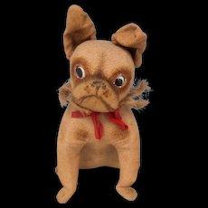 Large French Bulldog Googly Eyes c1930
