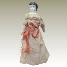 German China Doll For Dolls House c1900