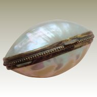 Small Mother Of Pearl Box Perfect c1900