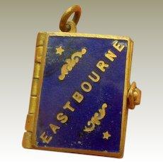 Enamel Eastbourne Souvenir Book c1910.
