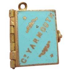 Enamel Gt.Yarmouth Souvenir Book c1910