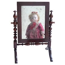 Miniature Swing Mirror c1900