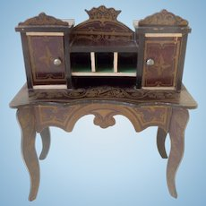 Walterhausen Ladies Desk For Dolls House c1880