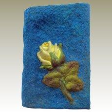Velvet  & Silk Aide Memoire c1884