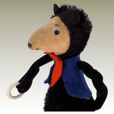 *RESERVED*Comical Mohair & Velvet Mouse