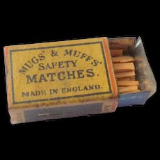 Miniature Box Of Matches c1915