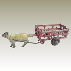 Tiny Simon & Rivollet Dog Cart c1915