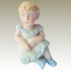 Bisque Seated Child Figure c1900