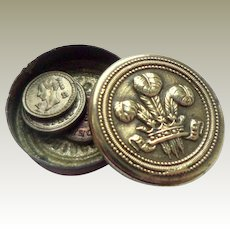 Teeny The Prince Of Wales Box & Coins 1848