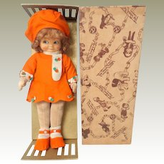 Mabel Lucie Attwell Doll By Chad Valley c1928