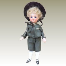 Sweet Mignonette Boy Doll In Sailor Suit c1900