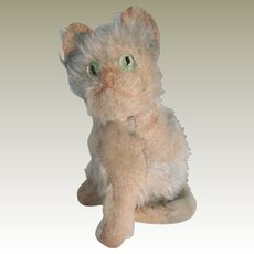 Adorable Steiff Fluffy Cat Tiny Size