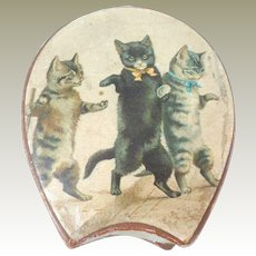 Cat Lithograph Box Cadbury Chocolates c1915