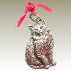 Lovely Old Cat Rattle c1920
