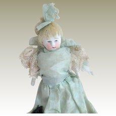 German Dolls House Doll Silk clothes c1915