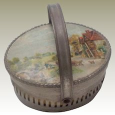 Small German Candy Container Basket c1915