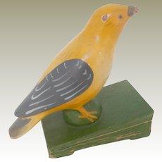 German Squeak Toy Bird c1890