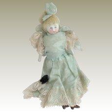 Antique Bisque Dolls House Doll c1910