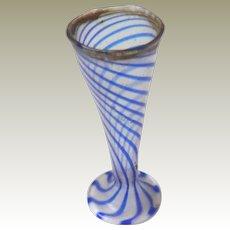 Miniature Glass Vase For Dolls House c1910