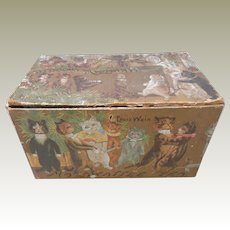 Louis Wain Cat's Card Mazawattee Tea Box c1910