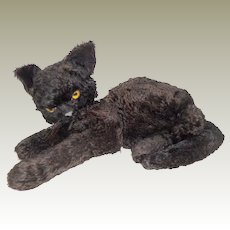 Merrythought Black Marvellous Cat 1930's
