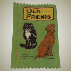 Small Deans Rag book Book Old Friends 1930's
