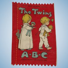Small Deans Rag book Book The Twins ABC 1930's