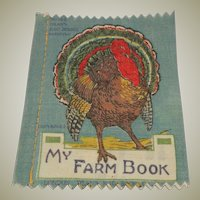 Small Deans Rag book Book My Farm Book 1930's