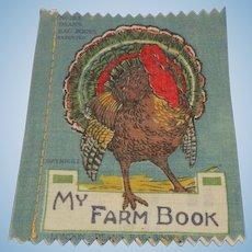 Small Deans Rag book Book My Farm Book 1930's